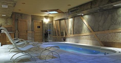 Nohem Spa at L'Oxalys Residence. Val Thorens Ski resort, France