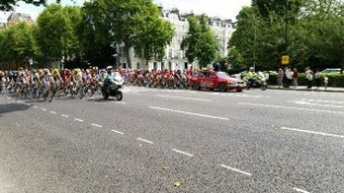 @RideLondon Peleton Approaches
