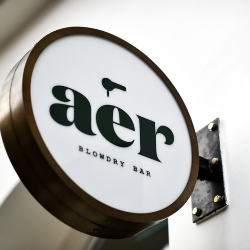 The Opening of AER Blowdry Bar at Old Brompton Road, London, Britain on 15 Jul 2015.